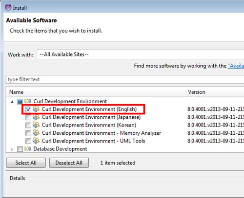 Curl - Download: Integrated Development Environment CDE
